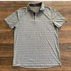 LULULEMON Men's Short Sleeve Gray Size Large